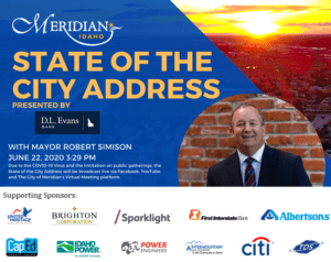 State of the City 2020 - with Sponsors